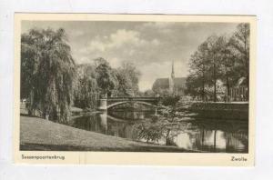 RP: Bridge over River / Sassenpoortenbrug,Zwolle,Netherlands 1940-50s
