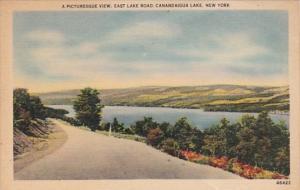 New York Canandaigua Lake East Lake Road