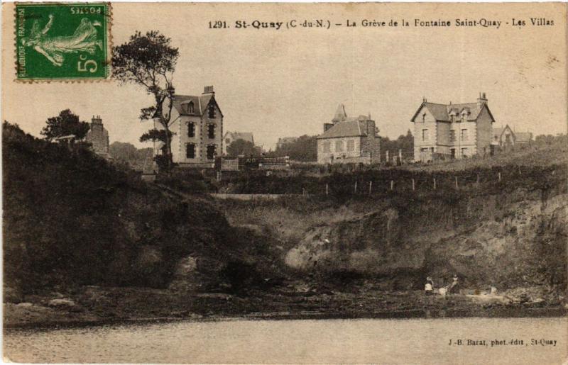 CPA St-QUAY - La Greve de la Fontaine St-QUAY - Les Villas (630298)