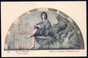 'Boy of Winander' Library of Congress unused c1910's
