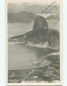 old rppc NICE VIEW Rio De Janeiro Brazil i2861