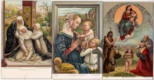 3 - La Vergine, Madonna di Folligno & Svenimento di S. Cater