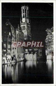 Postcard Modern Bruges Quai du Rosaire