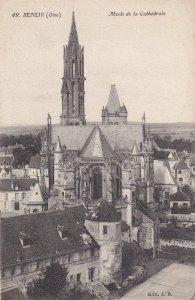 SENLIS, Oise, France, 1900-1910s; Abside De La Cathedrale