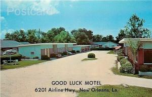 LA, New Orleans, Louisiana, Good Luck Motel, Dexter Press No. 62222-B