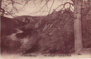 CPA CROZANT Vallee de la Sedelle (1143802)