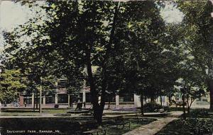 Maine Bangor Davenport Park 1913