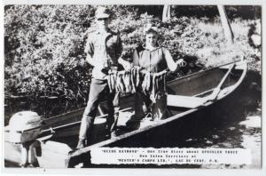 Guide Raymond, Wester's Camp, Lac-du-Cerf, Labelle Co. PQ