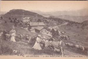 France Aix les Bains Le Mont Revard
