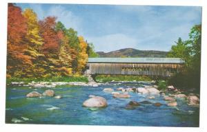 Covered Bridge Postcard Swift New Hampshire Passaconway NH