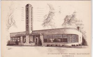 South Carolina Walterboro Interstate Glass House Restaurant