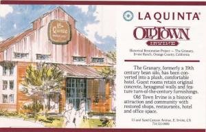 La Quinta Inn Motel - Old Town, Irvine CA, California