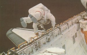 Astronaut F. Story Musgrave, Space Shuttle CHALLENGER , 1983