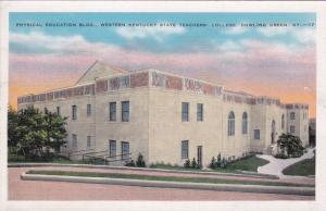 BOWLING GREEN, Kentucky, 1930-40s; Physical Education Building, State College