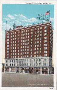 Indiana Fort Wayne Hotel Keenan Curteich
