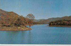 NORTH SALUDA LAKE, BLUE RIDGE MOUNTAINS, SOUTH CAROLINA, unused Postcard
