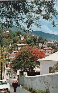 Partial Street View, ST. THOMAS, US Virgin Islands, 1940-1960s