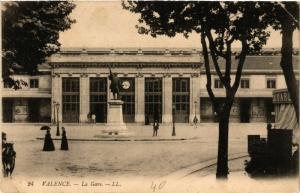 CPA VALENCE la Gare (404235)
