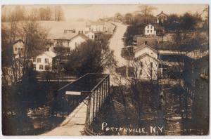 RPPC, Aerial View, Portchester NY
