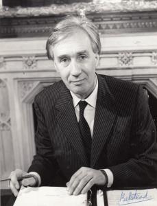 John Ganzoni Baron Belstead Conservative MP Margaret Thatcher Hand Signed Photo
