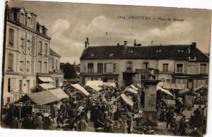 CPA AK Argentan - Place du Marche (250043)