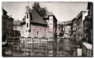 Annecy Old Postcard Prison and channel Thiau