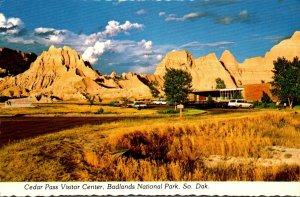 South Dakota Badlands National Park Cedar Pass Visitor Center