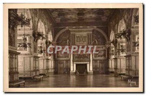 Postcard Old Palace of Fontainebleau Henry II Gallery and Ballroom