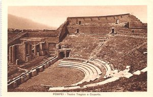 Pompei Teatro Tragico o Coperto Italy Unused