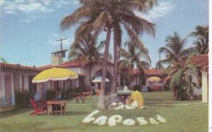 Florida Miami La Posada Motor Hotel 1954