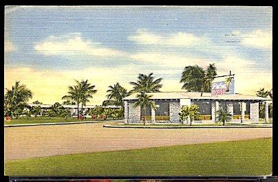 Palms Motel on US 1 South Miami Florida