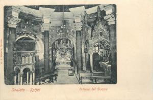 Croatia 1900s Spalato Split Dom interior