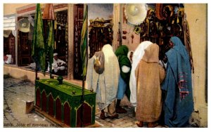 Tunis Soukeftombeau desaint, Women at Bazar