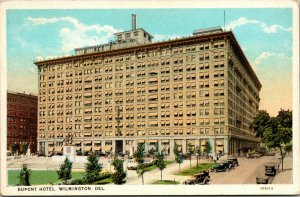 Vtg 1920s Dupont Hotel Wilmington Delaware DE Postcard