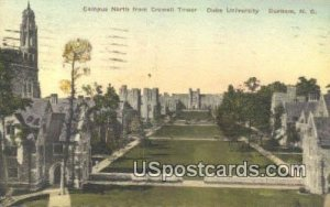 Campus North, Duke University in Durham, North Carolina