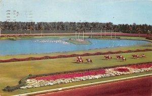 Hialeah, FL, USA Hialeah Race Course Horse Racing 1956