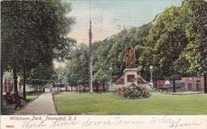 Rhode Island Pawtucket Wilkinson Park 1906