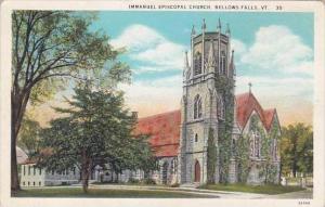 Vermont Bellows Falls Immanuel Episcopal Church