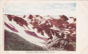 Arapahoe Peaks Moffat Road Colorado