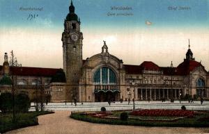 Germany Hauptbahnhof Wiesbaden 02.59