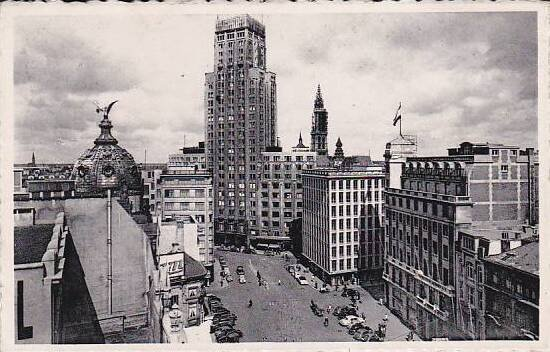 Belgium Antwerpen Anvers Torengebouw 1953 Photo