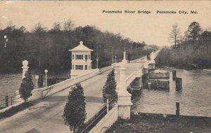 POCOMOKE CITY , Maryland , PU-1930 ; Bridge