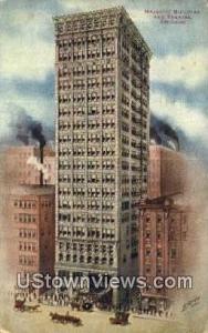Majestic Bldg & Theatre Chicago IL 1914