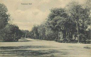 PAKISTAN Peshawar Mall early postcard