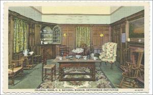 DC - Washington. Colonial Room, Smithsonian Institution