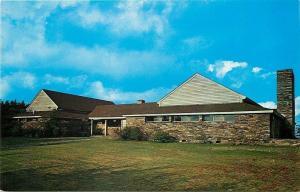 Mount Mitchell North Carolina~State Park Restaurant~1950s Postcard