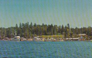 Canada Telegraph Harbour Marina Thetis Island British Columbia