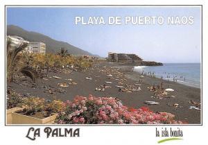 Spain La Palma Islas Canarias Playa de Puerto Naos Beach Promenade