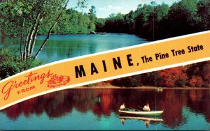 Maine Greetings From The Pine Tree State