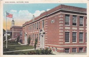 MAYNARD, Massachusetts, 1900-1910's; High School